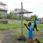 Praying the Labyrinth in Goma, D.R. Congo