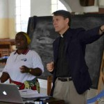 Tim Teaching at the Women&#039;s Leadership Week in Goma, D.R. Congo